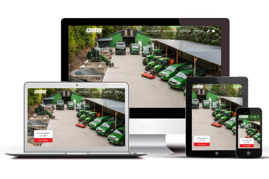 GSS Sordon startet mit neuer Webseite durch.